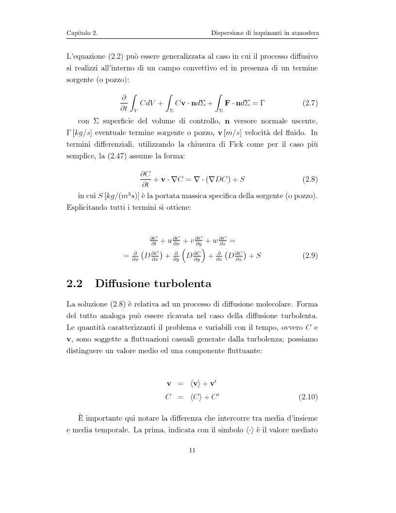 Anteprima della tesi: Modellazione numerica di processi di dispersione in atmosfera: applicazione alla conca di Bolzano, Pagina 7