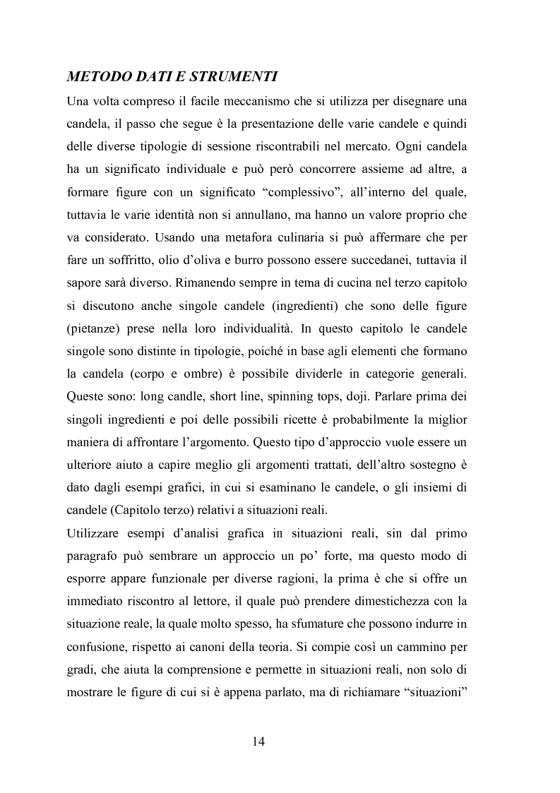 Anteprima della tesi: Analisi tecnica e metodi statistici per l'analisi dei prezzi di borsa, Pagina 10