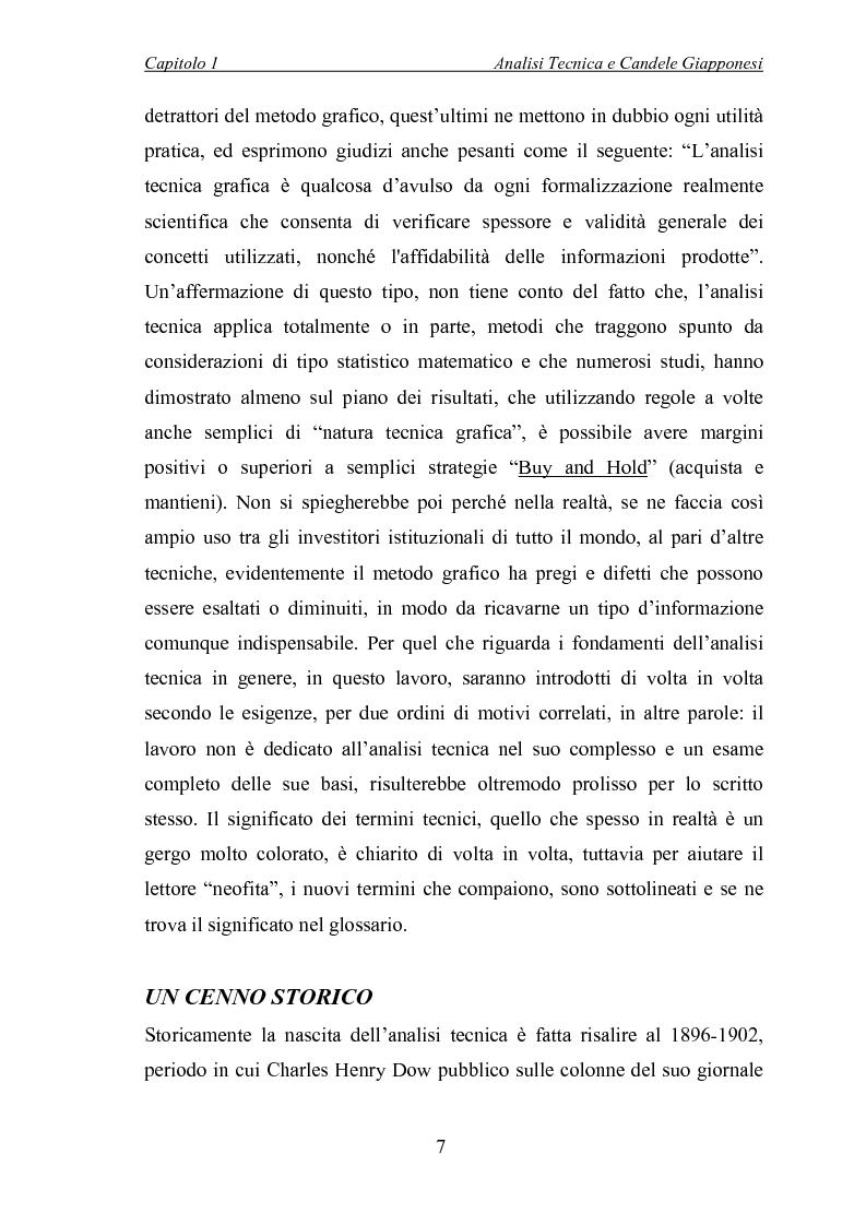 Anteprima della tesi: Analisi tecnica e metodi statistici per l'analisi dei prezzi di borsa, Pagina 3