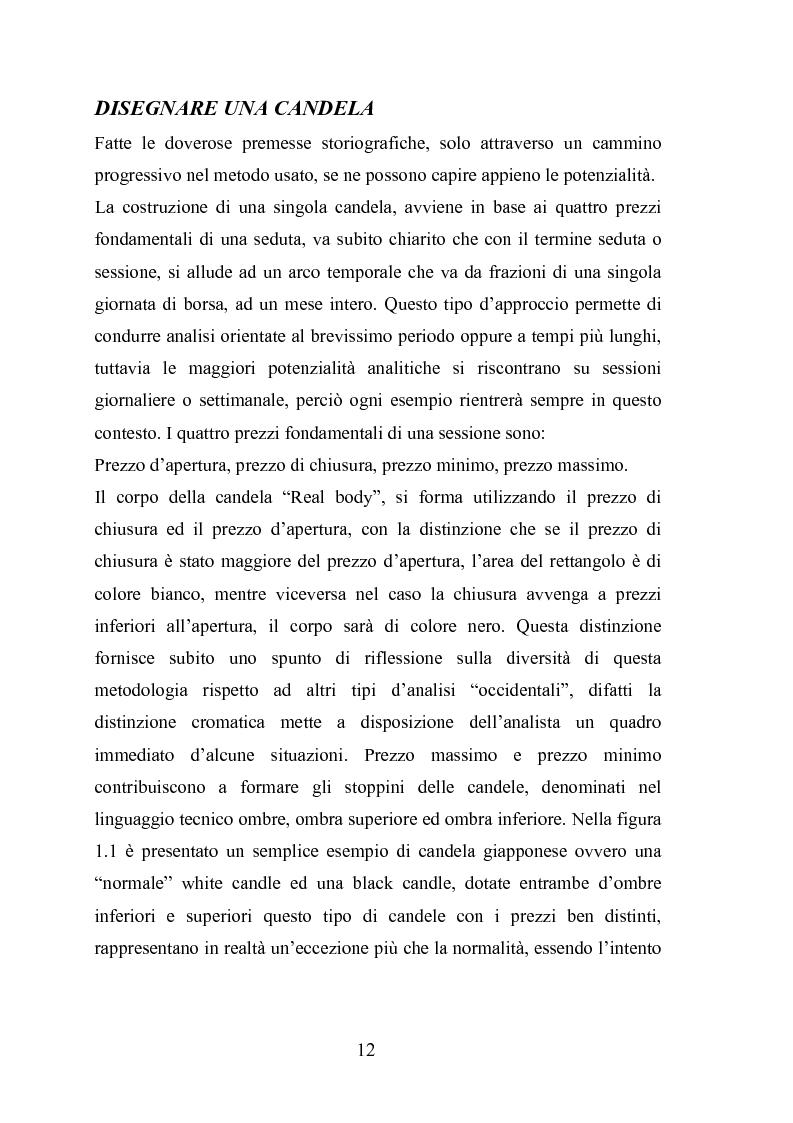 Anteprima della tesi: Analisi tecnica e metodi statistici per l'analisi dei prezzi di borsa, Pagina 8