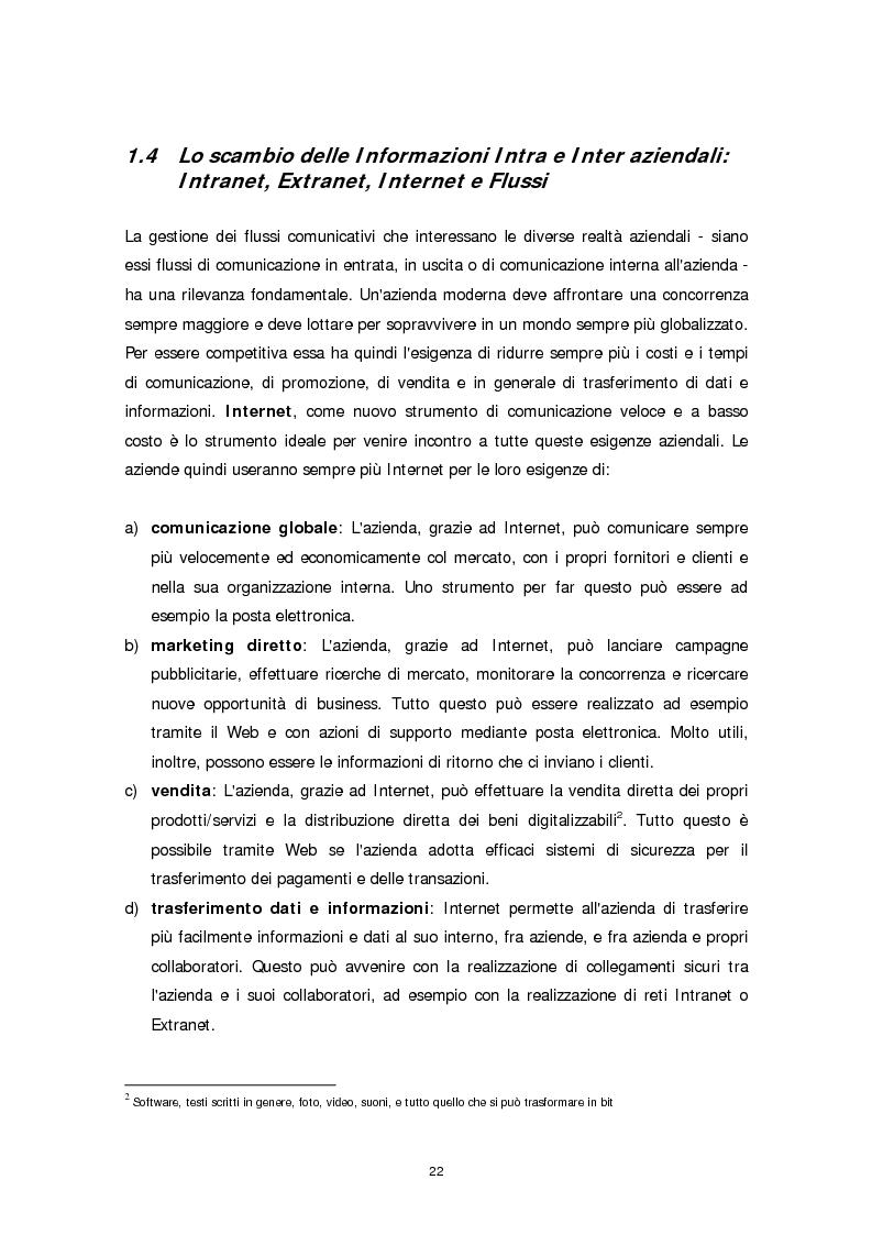 Anteprima della tesi: Il ruolo della firma digitale e delle tecnologie di sicurezza informatica nella ridefinizione dei processi aziendali, Pagina 14