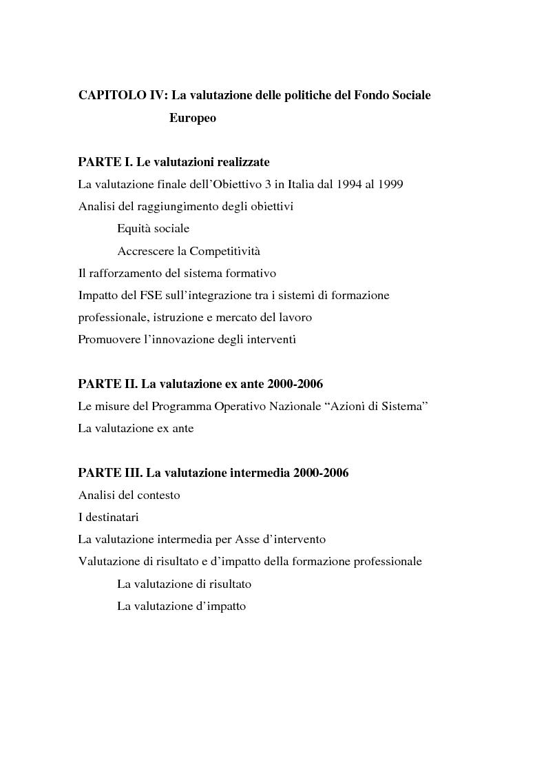 Fondo sociale europeo italia