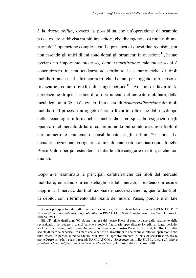 Anteprima della tesi: Opportunità di crescita delle Pmi e private equity, Pagina 13
