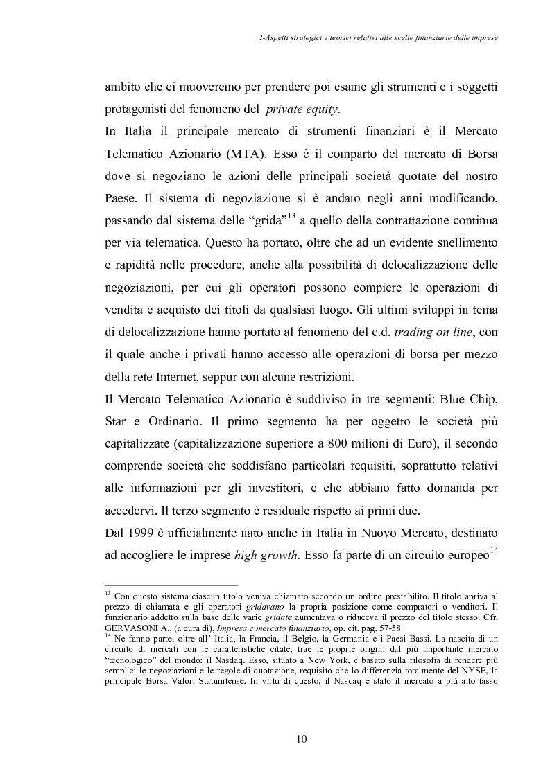 Anteprima della tesi: Opportunità di crescita delle Pmi e private equity, Pagina 14