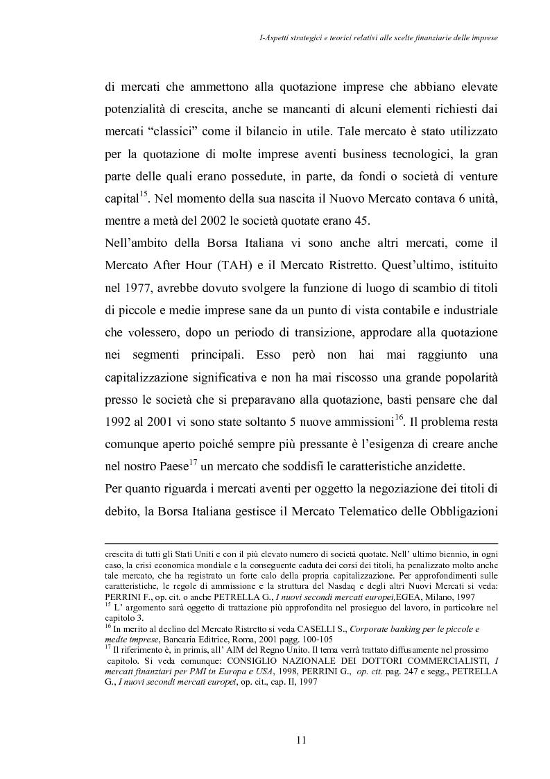 Anteprima della tesi: Opportunità di crescita delle Pmi e private equity, Pagina 15