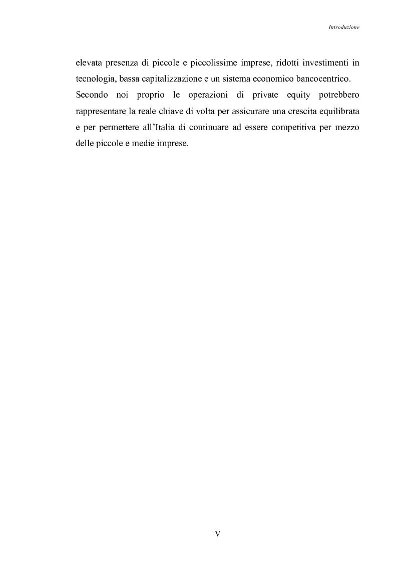 Anteprima della tesi: Opportunità di crescita delle Pmi e private equity, Pagina 5