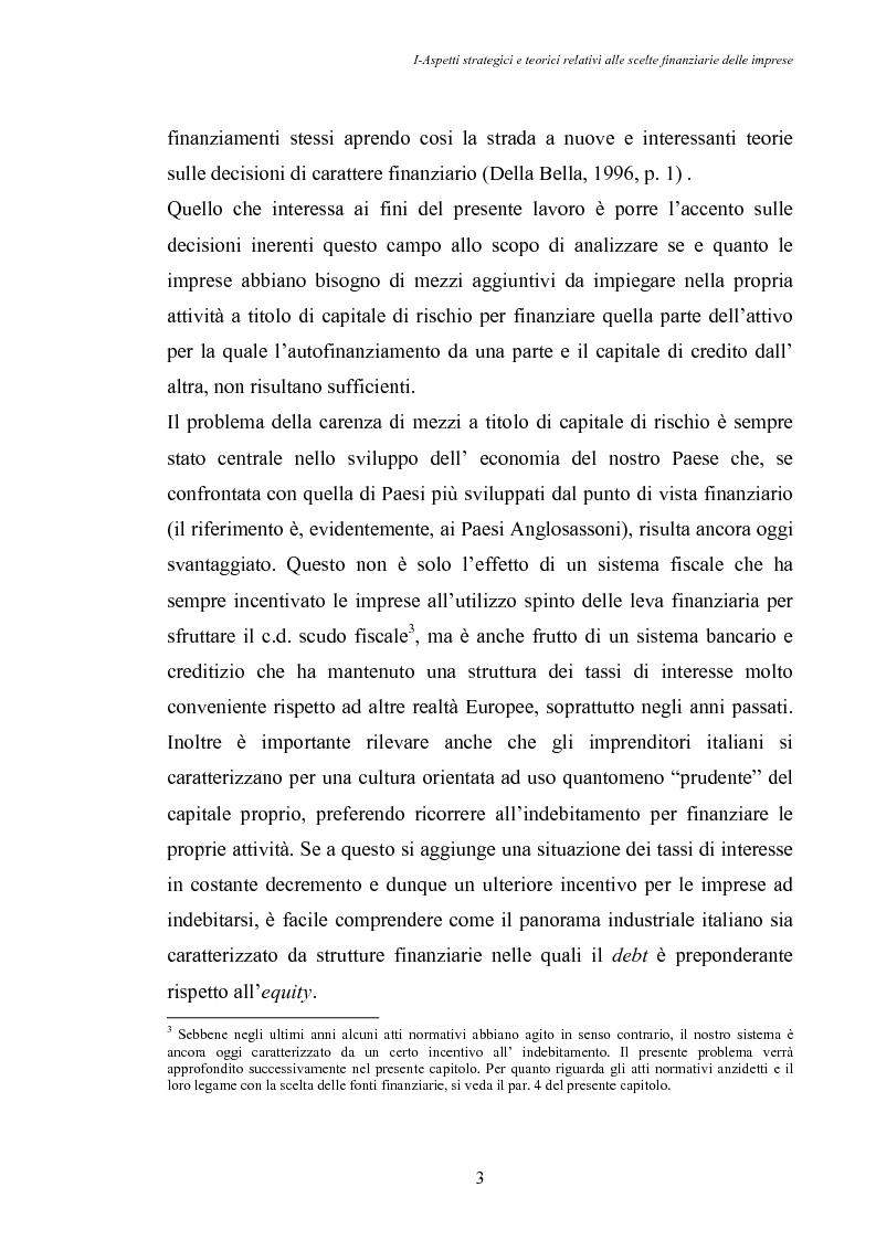 Anteprima della tesi: Opportunità di crescita delle Pmi e private equity, Pagina 7