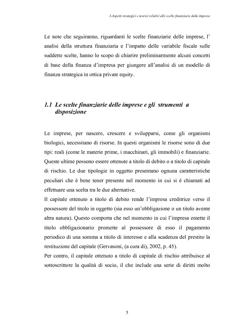 Anteprima della tesi: Opportunità di crescita delle Pmi e private equity, Pagina 9