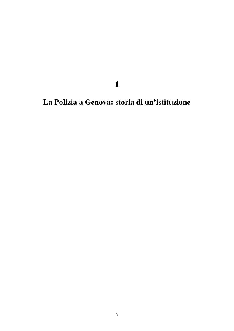 Anteprima della tesi: I buoni e i cattivi. La Polizia nelle rappresentazioni fotografiche durante gli scontri di Genova: un'analisi semiotica, Pagina 3