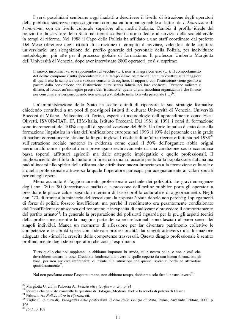 Anteprima della tesi: I buoni e i cattivi. La Polizia nelle rappresentazioni fotografiche durante gli scontri di Genova: un'analisi semiotica, Pagina 9