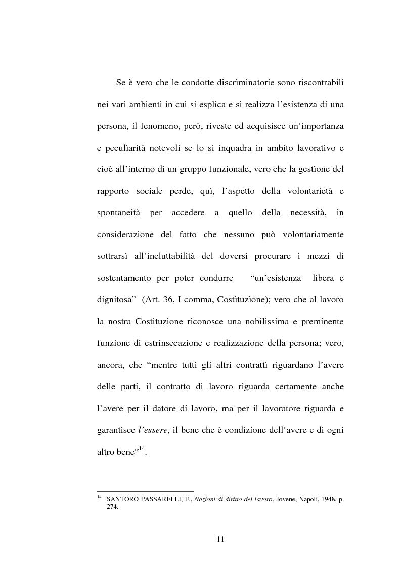Anteprima della tesi: Lesioni da mobbing e responsabilità, Pagina 15
