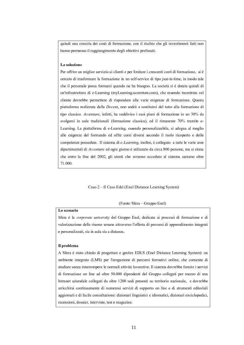 Anteprima della tesi: Analisi economico gestionale di un sistema di e-learning: modelli simulativi, Pagina 11
