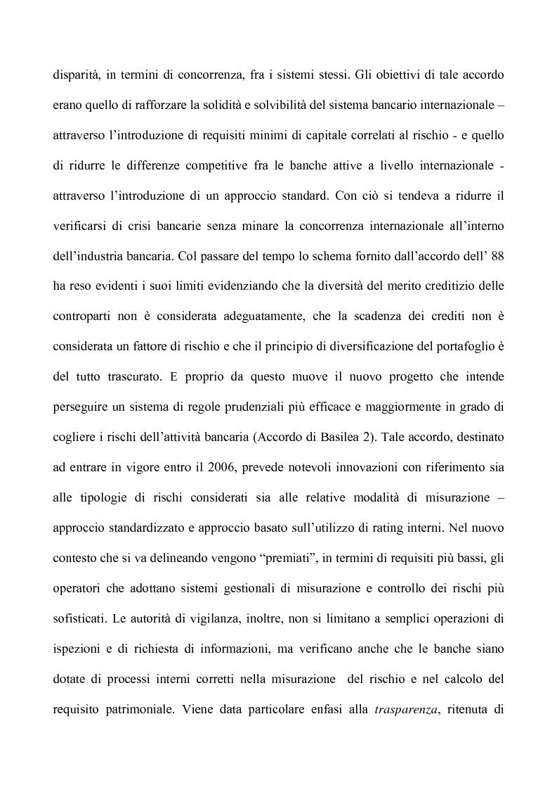 Anteprima della tesi: Profili critici della patrimonializzazione degli intermediari assicurativi e creditizi, Pagina 7