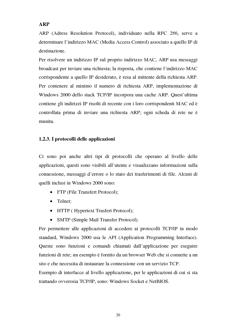 Anteprima della tesi: Aspetti tecnici e giuridici della sicurezza informatica, Pagina 14
