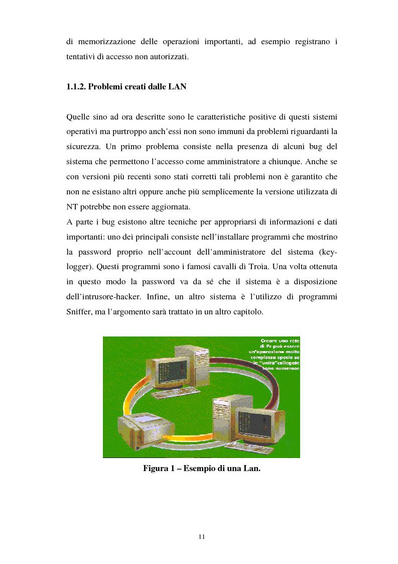 Anteprima della tesi: Aspetti tecnici e giuridici della sicurezza informatica, Pagina 5