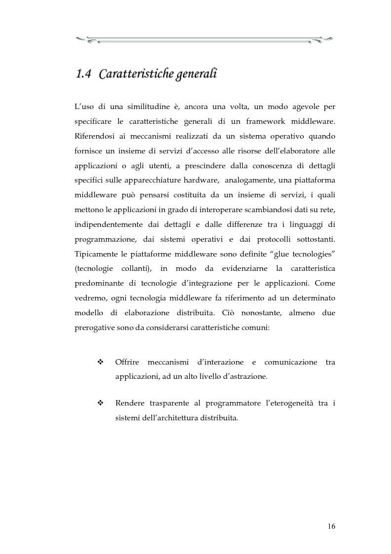Anteprima della tesi: Interazione tra applicazioni multiorb e web services: sviluppo di un componente web based del modello Anthill per un'applicazione Gps, Pagina 11