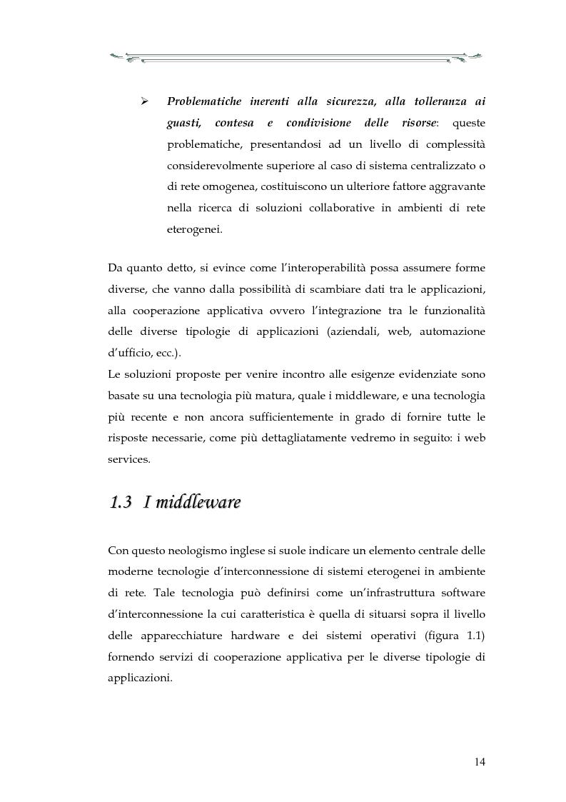 Anteprima della tesi: Interazione tra applicazioni multiorb e web services: sviluppo di un componente web based del modello Anthill per un'applicazione Gps, Pagina 9