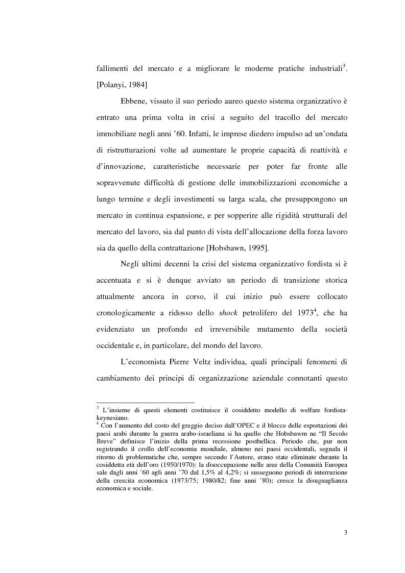 Anteprima della tesi: Politiche del lavoro e dimensione locale, Pagina 3