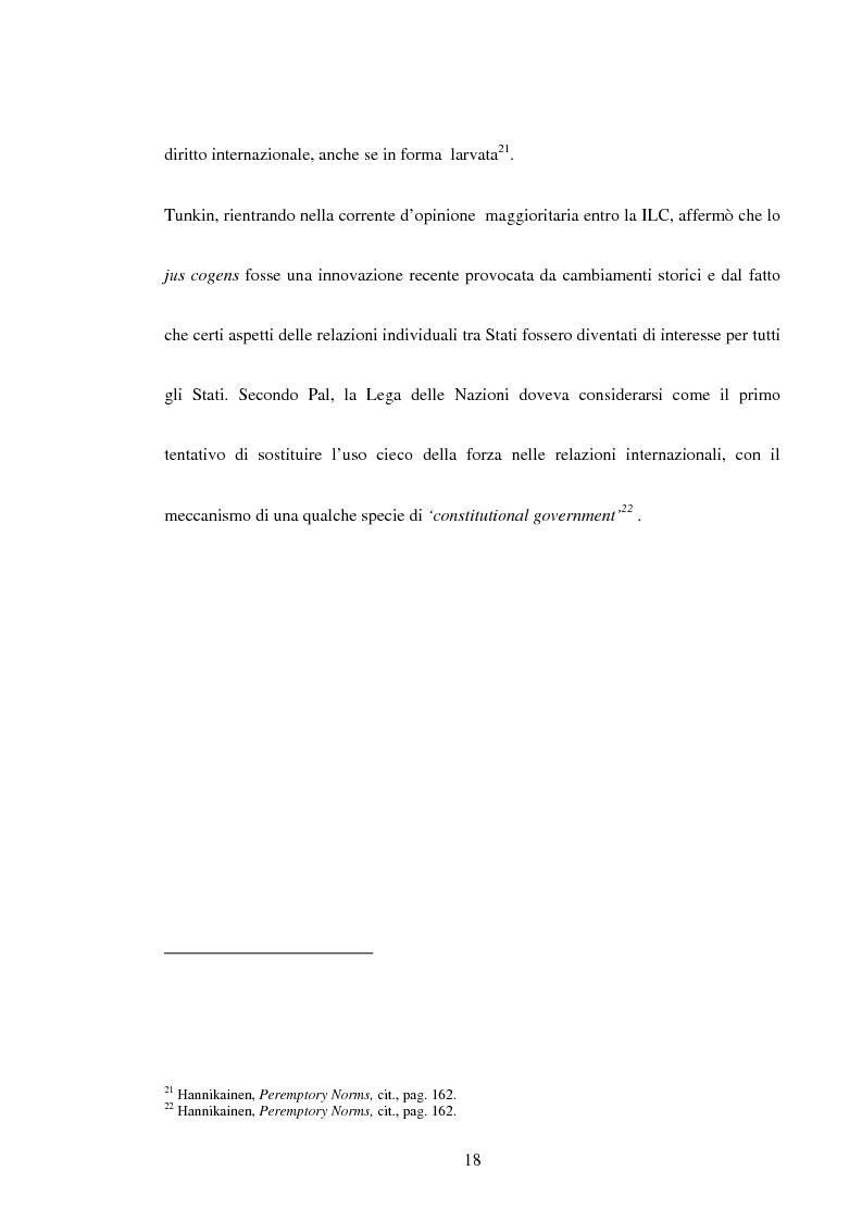 Anteprima della tesi: Trattati contrari a norme di jus cogens, Pagina 15