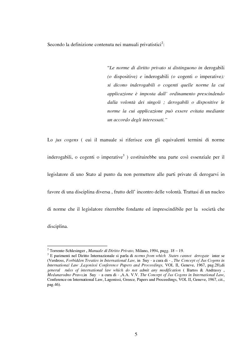 Anteprima della tesi: Trattati contrari a norme di jus cogens, Pagina 2