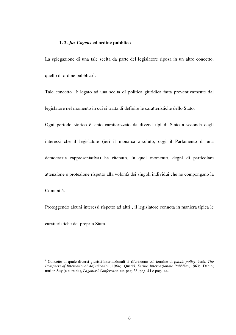 Anteprima della tesi: Trattati contrari a norme di jus cogens, Pagina 3