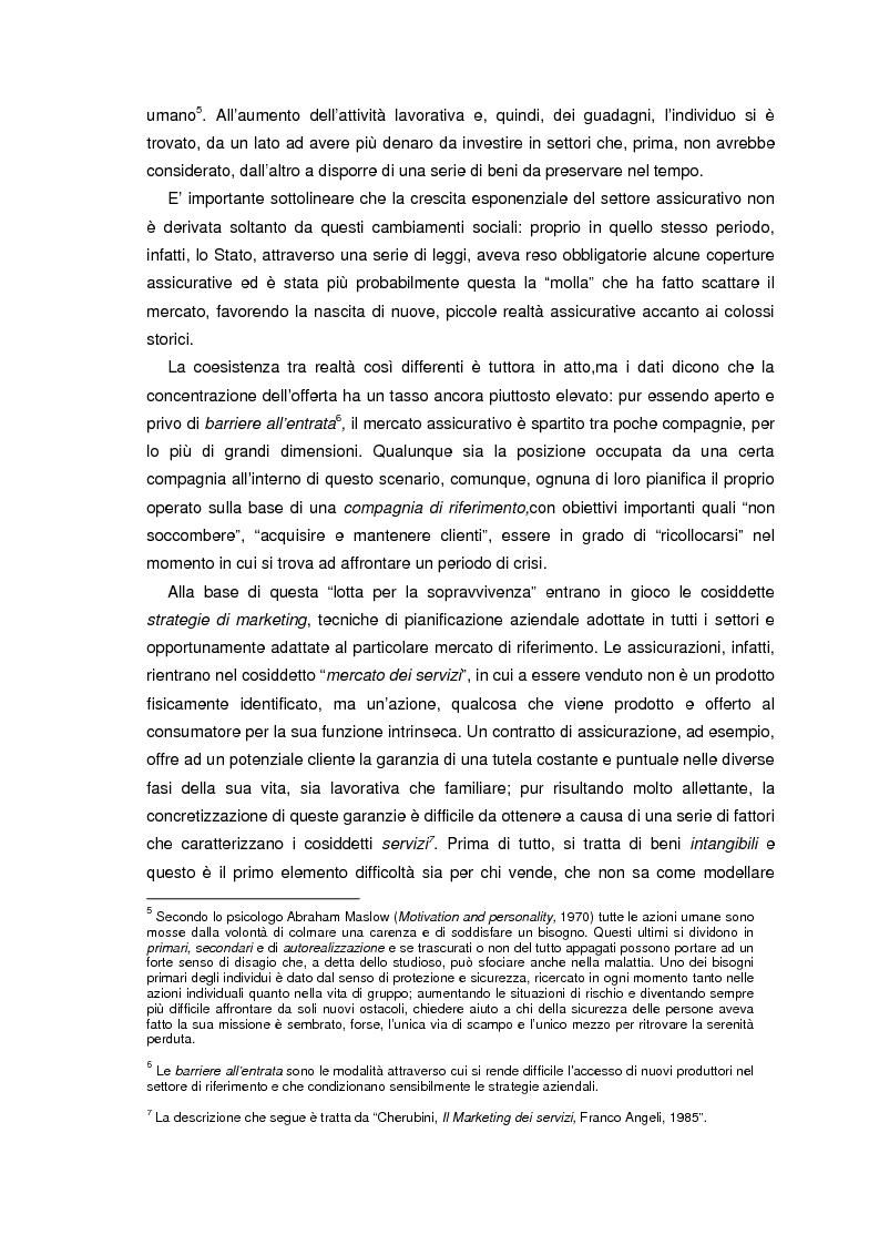 Anteprima della tesi: L'information technology nelle compagnie di assicurazione: programmazione di un consulente virtuale, Pagina 10