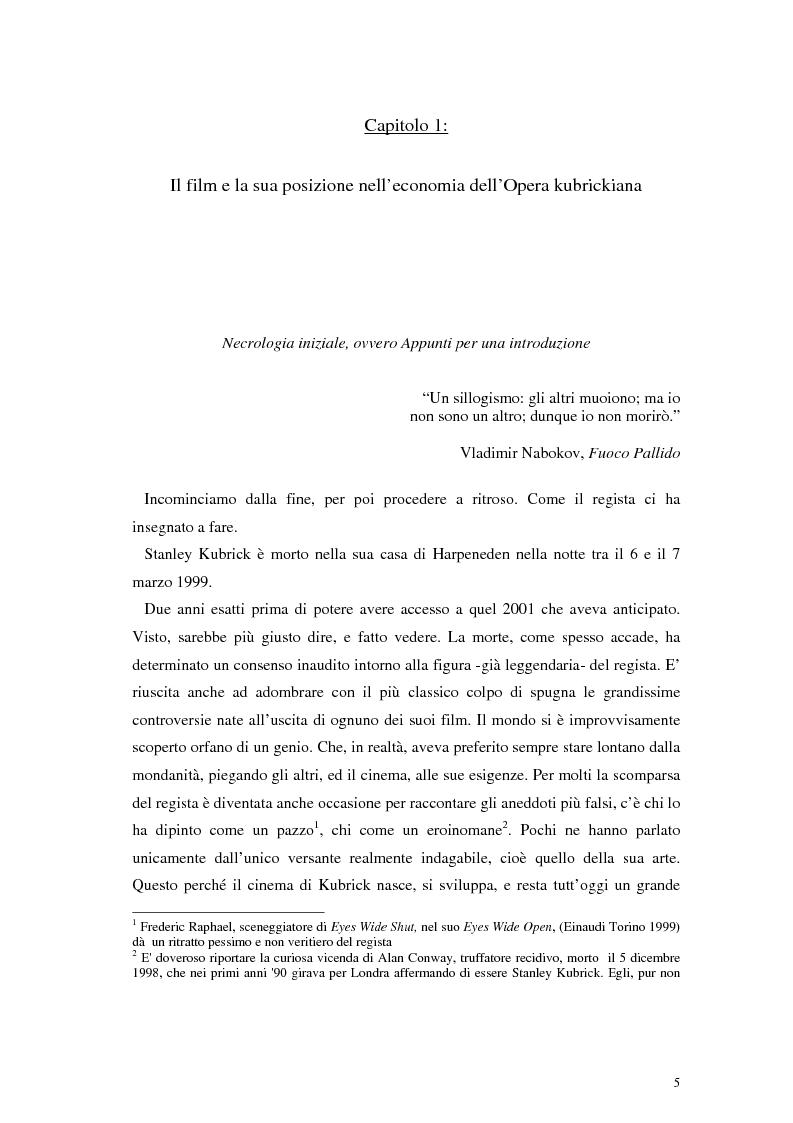 Anteprima della tesi: The Shining e la sua organizzazione spazio-temporale, Pagina 1