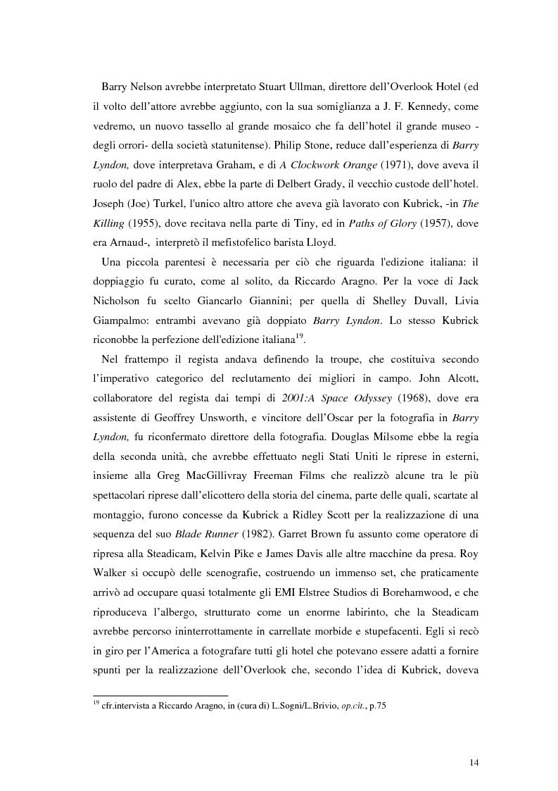Anteprima della tesi: The Shining e la sua organizzazione spazio-temporale, Pagina 10