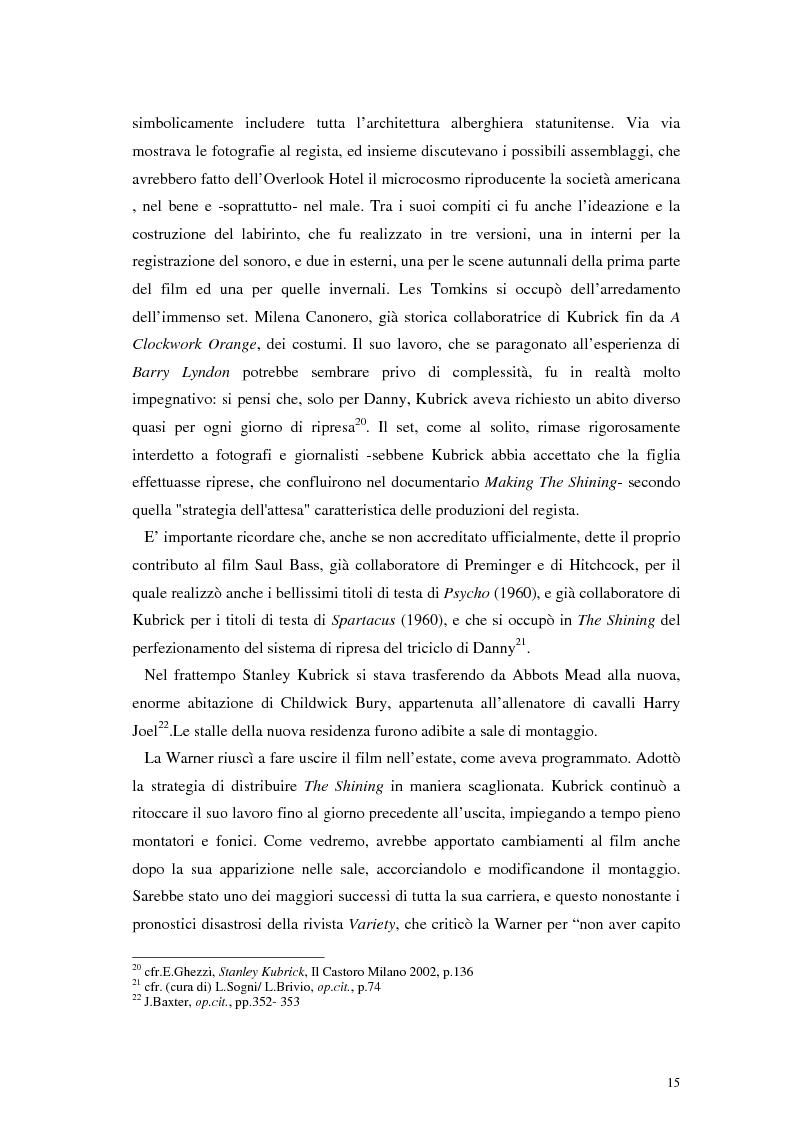 Anteprima della tesi: The Shining e la sua organizzazione spazio-temporale, Pagina 11