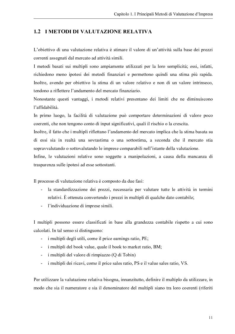Anteprima della tesi: Il contributo dei fattori intangibili nella valutazione d'impresa, Pagina 11