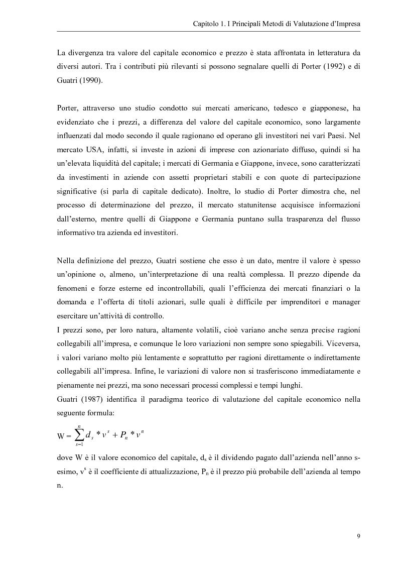 Anteprima della tesi: Il contributo dei fattori intangibili nella valutazione d'impresa, Pagina 9