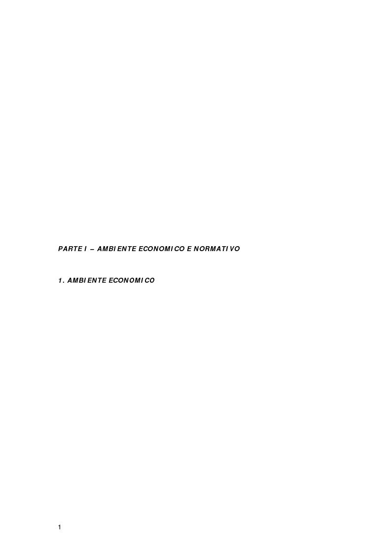 Anteprima della tesi: Controllo di gestione e risk management nelle imprese di trasporto aereo. Il caso Gandalf, Pagina 3