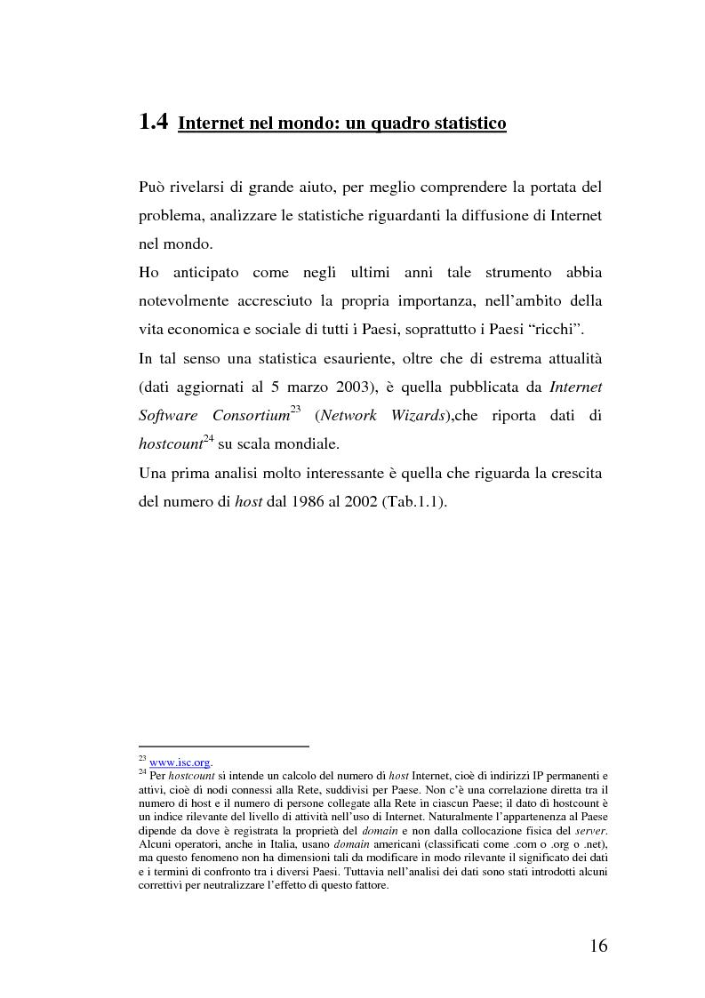 Anteprima della tesi: La multidimensionalità del digital divide e il ruolo della Pubblica Amministrazione, Pagina 15