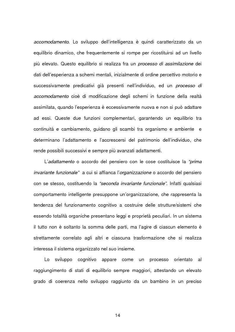 Anteprima della tesi: Tecnopsicologia e infanzia. Processi di apprendimento e utilizzo delle nuove tecnologie in ambito formativo, Pagina 11