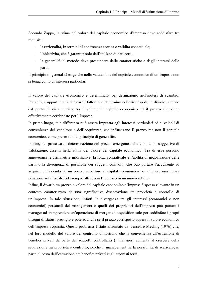 Anteprima della tesi: Il contributo dei fattori intangibili nella valutazione d'impresa, Pagina 8