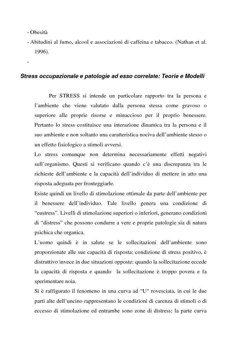 Anteprima della tesi: Ruolo dei fattori psicosociali nella patologia muscolo-scheletrica dell'arto superiore: studio sperimentale, Pagina 4