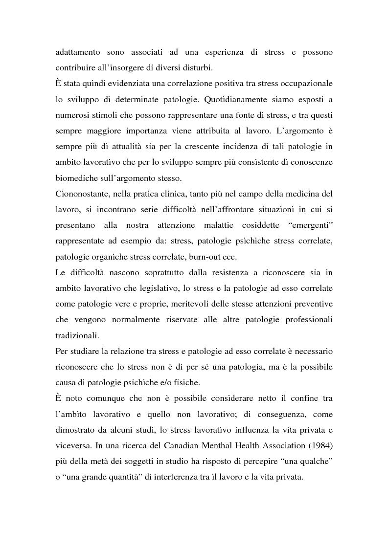 Anteprima della tesi: Ruolo dei fattori psicosociali nella patologia muscolo-scheletrica dell'arto superiore: studio sperimentale, Pagina 6