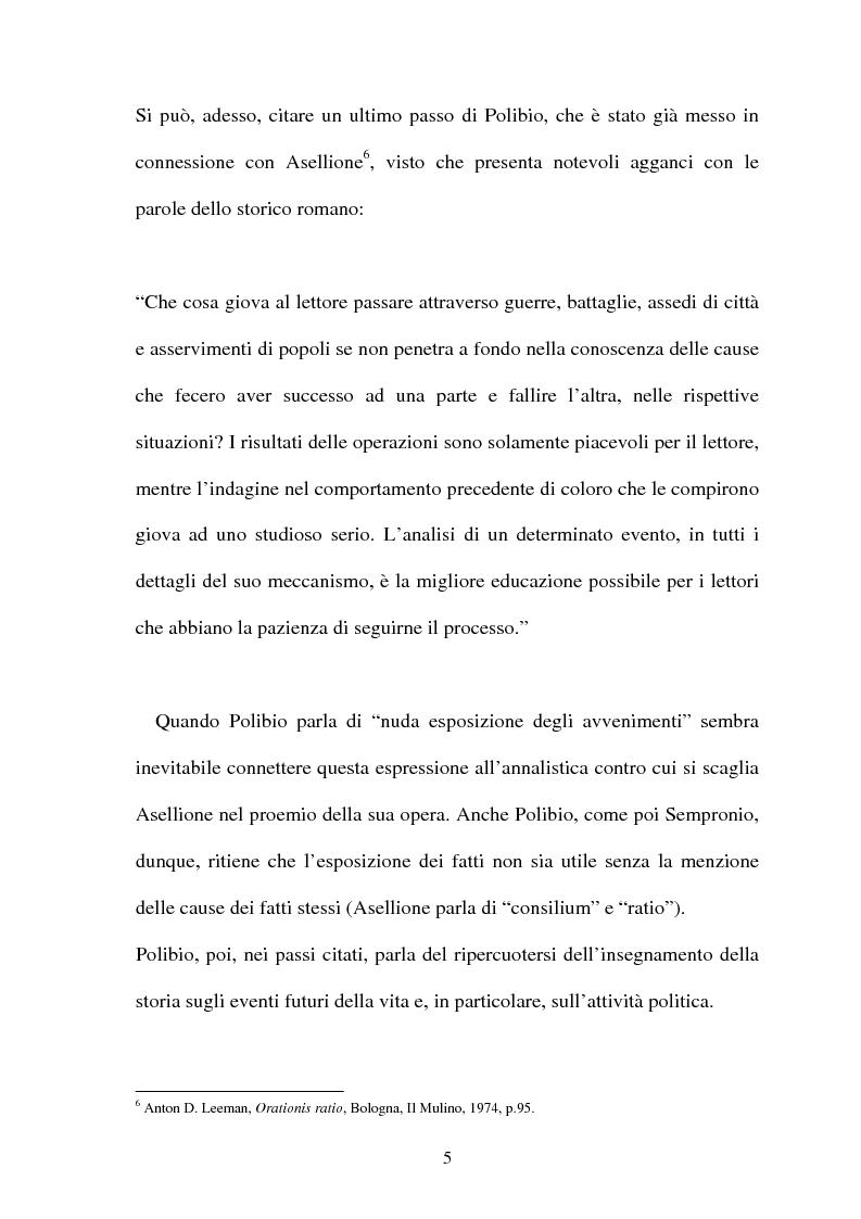 Anteprima della tesi: I frammenti di Sempronio Asellione, Pagina 5