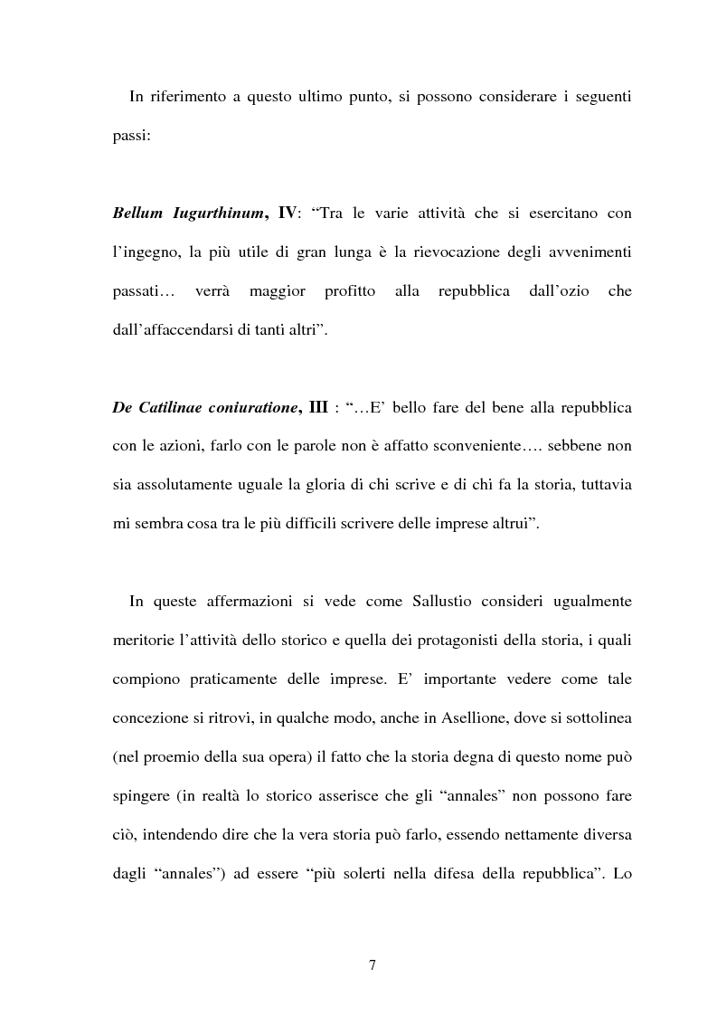 Anteprima della tesi: I frammenti di Sempronio Asellione, Pagina 7