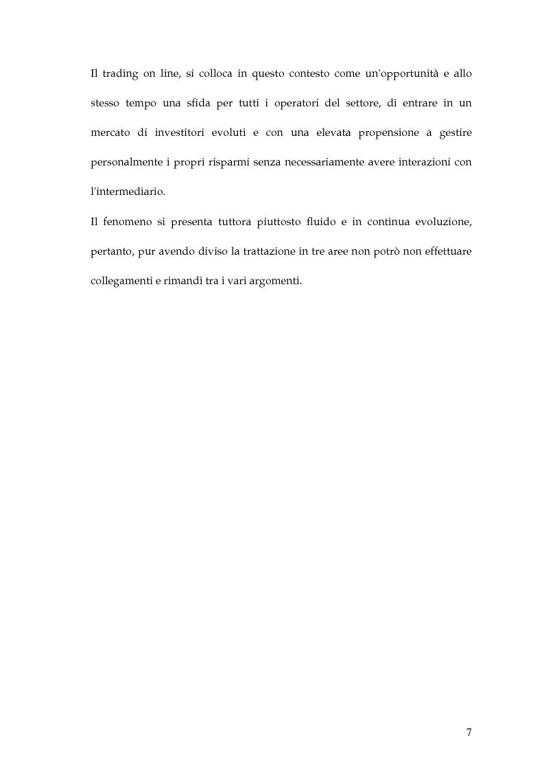 Anteprima della tesi: Dinamite sul trading on line, Pagina 4