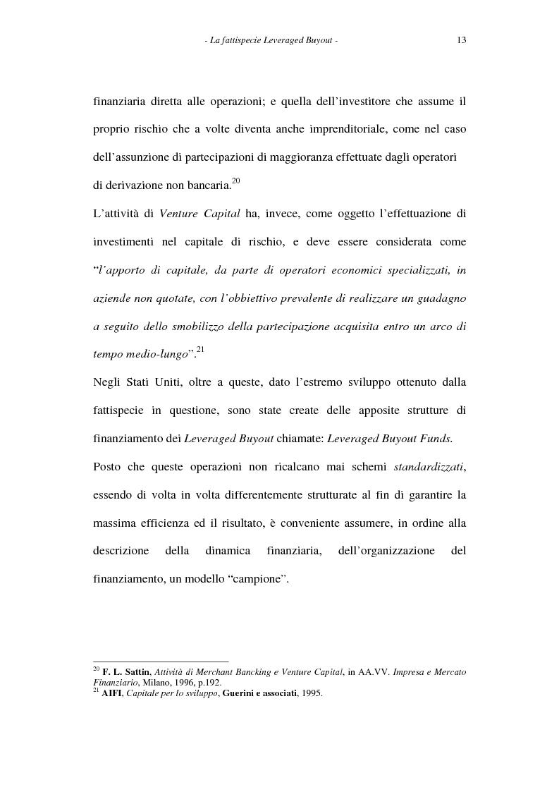 Anteprima della tesi: Il leveraged buyout nel diritto italiano, Pagina 13