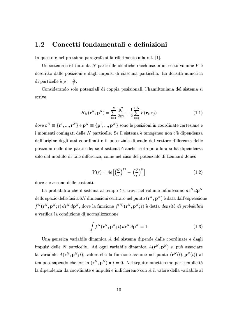 Anteprima della tesi: Dinamica lenta in liquidi molecolari sottoraffreddati: studio di un modello per l'ortoterfenile, Pagina 5
