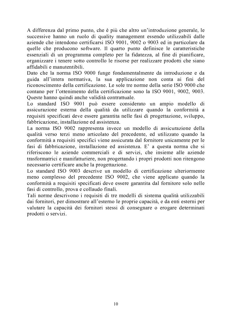 Anteprima della tesi: Risultati dei sistemi di qualità nelle aziende agroalimentari del Veneto, Pagina 5