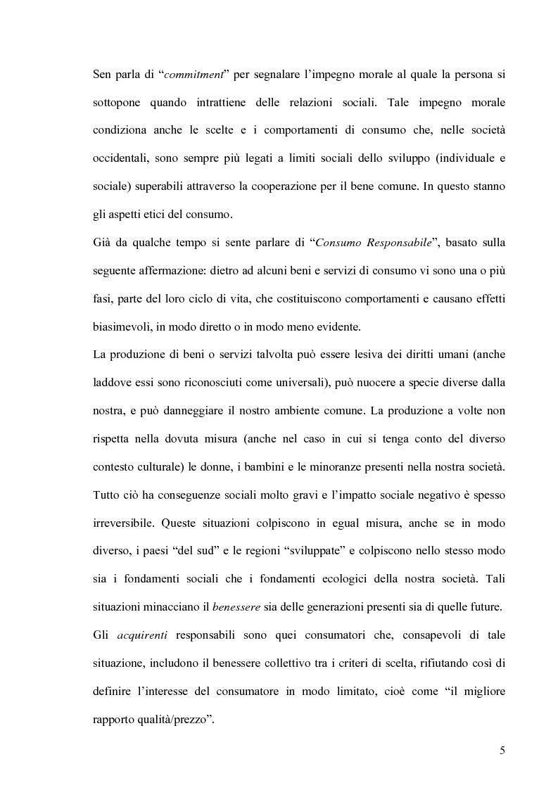 Anteprima della tesi: Altruismo, etica e modelli economici: un'analisi dei recenti contributi, Pagina 3