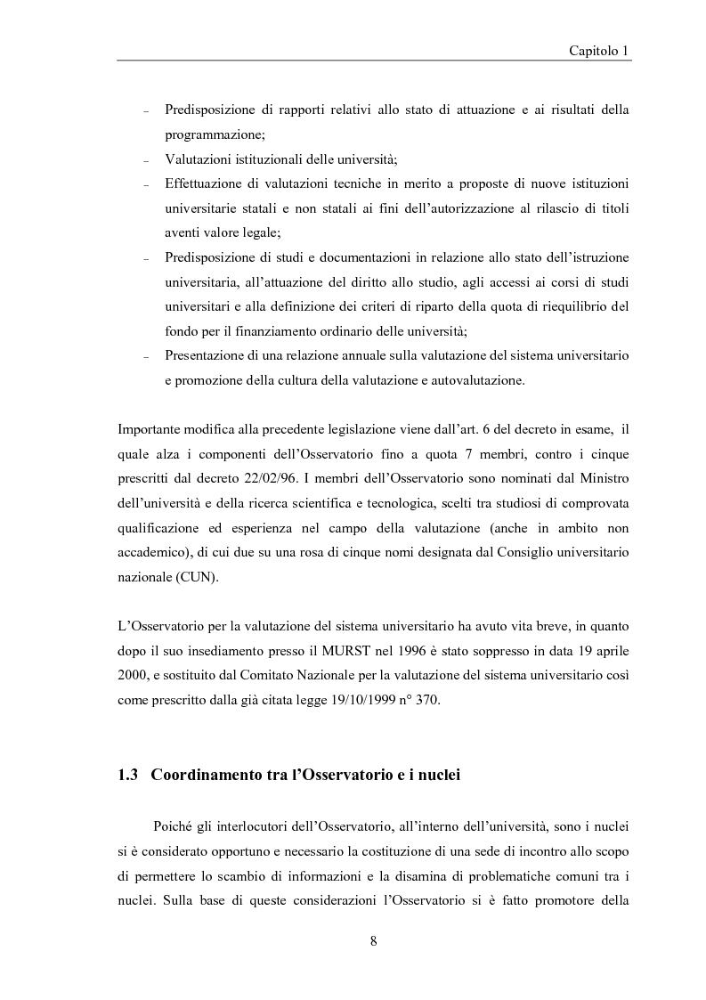Anteprima della tesi: La valutazione della didattica dell'ateneo Modenese. Un approccio fuzzy, Pagina 7