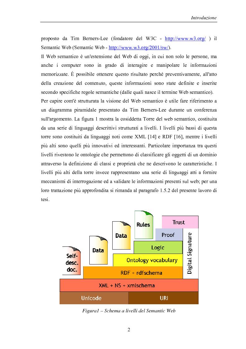 Anteprima della tesi: Visualizzazione ed elaborazione di ontologie: un'applicazione per la selezione di strumenti di data mining, Pagina 2