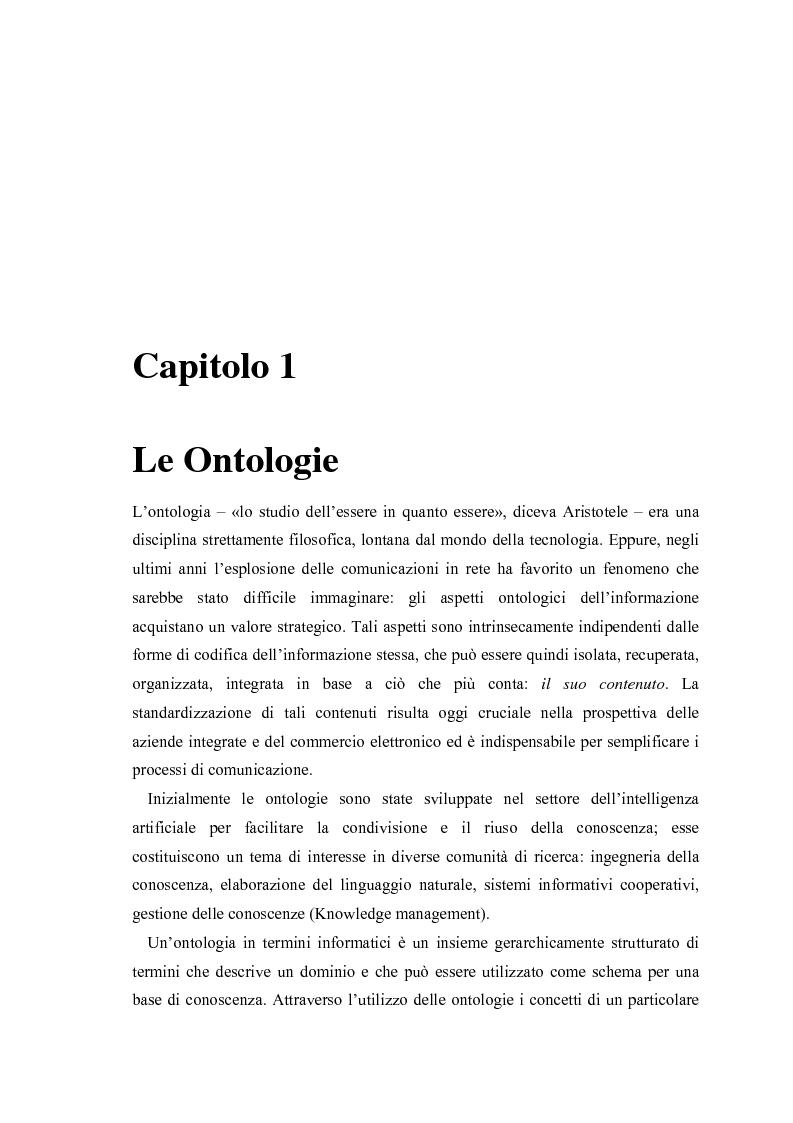 Anteprima della tesi: Visualizzazione ed elaborazione di ontologie: un'applicazione per la selezione di strumenti di data mining, Pagina 6