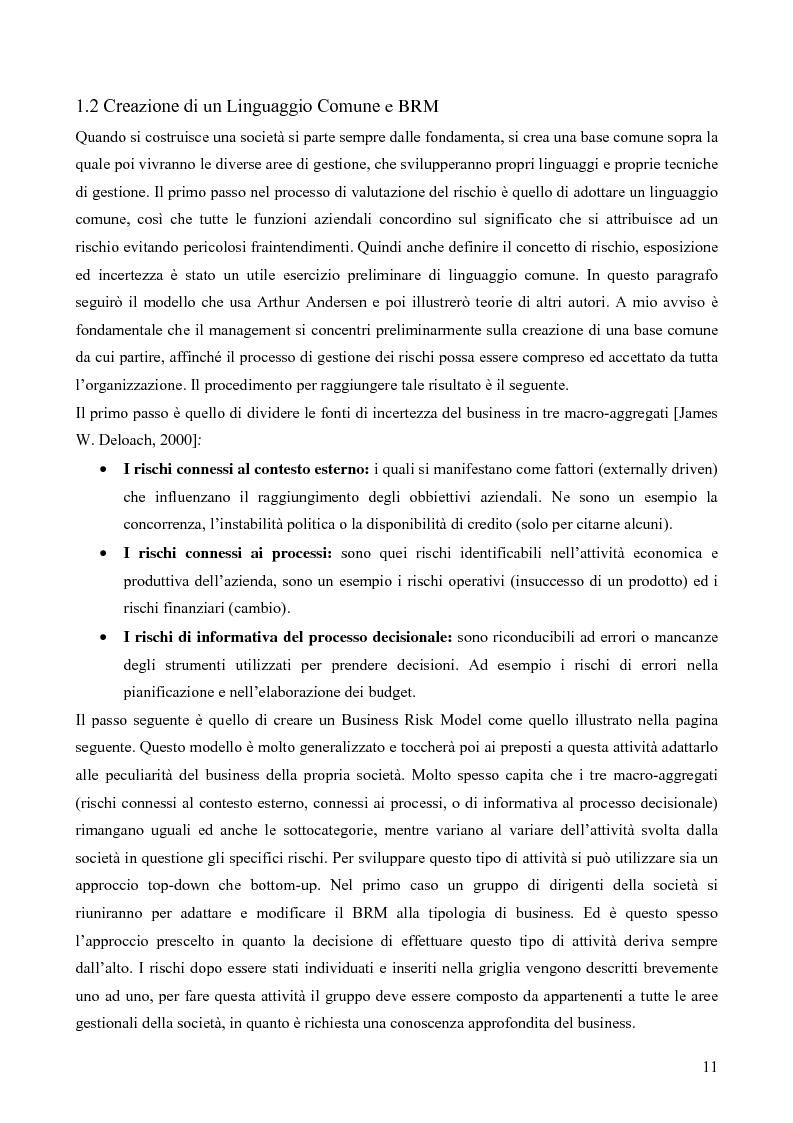 Anteprima della tesi: Risk assessment: analisi di un caso di studio, Pagina 6