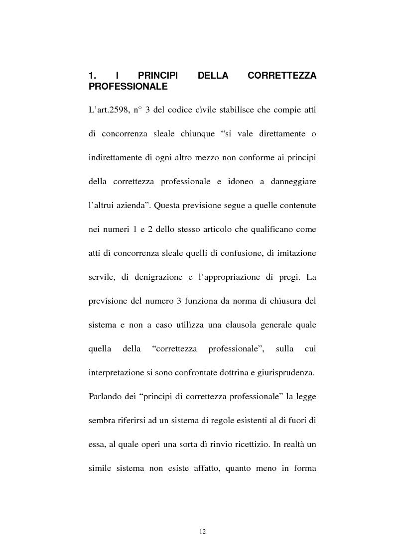 Anteprima della tesi: La vendita sottocosto come fattispecie atipica di concorrenza sleale, Pagina 10