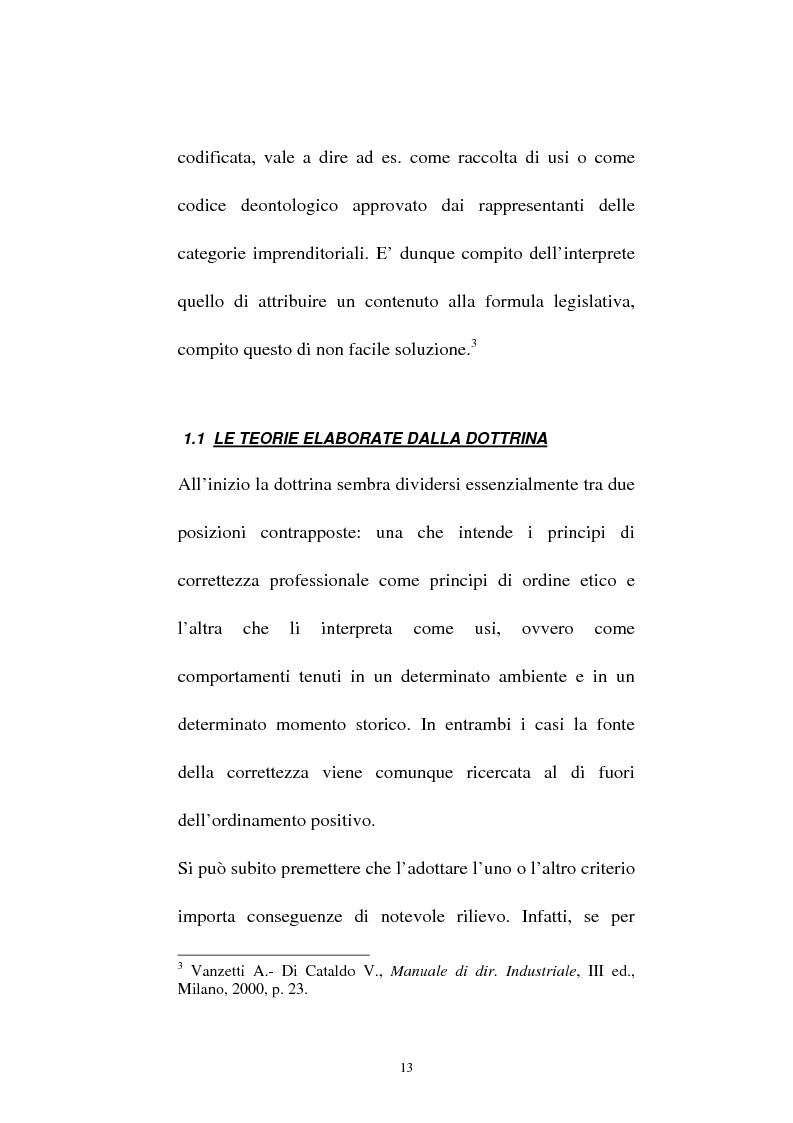Anteprima della tesi: La vendita sottocosto come fattispecie atipica di concorrenza sleale, Pagina 11